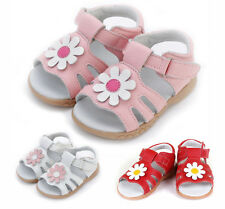 2016 Summer Baby Toddler Kids Children Girls Shoes Girls Genuine Leather sandals