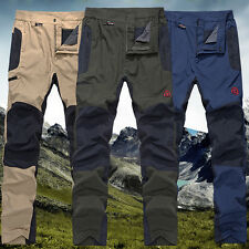 Men Outdoor Sporting Goods Pants Snowboard Rainproof Climbing Hiking Trousers