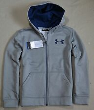 NWT BOYS YOUTH UNDER ARMOUR COLD GEAR FULL ZIP HOODIE JACKET COAT SZ S M L