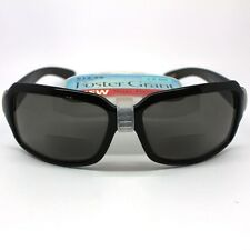 Foster Grant Shore Womens Sun Readers Black Framed 2 in 1 Sun Glasses