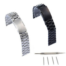 22mm Stainless Steel Watch Band For Basis Peak Fitness Tracker Watch