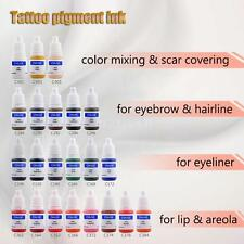 CHUSE Tattoo Pigment Permanent Makeup Color Ink Eyebrow Eyeliner Lip Tattoo A5J7