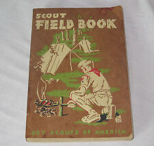 VINTAGE 1952- 7TH PRINTING BOY SCOUTS OF AMERICA SCOUT FIELD BOOK- COMPLETE