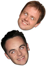 Ant and Dec Face Masks Im a Celebrity Takeaway Birthday Celebrations Hosts