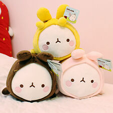 Molang Lovely Cute rabbit Bunny Doll Lying middle(35cm)