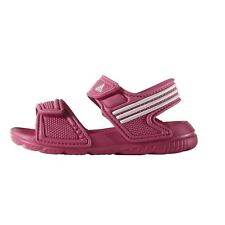 Adidas Kids Swimming Akwah 9 Girls Beach Pool Sandals AF3867 Ultra-Light Velcro