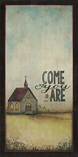 Art Print, Framed or Plaque by Tonya Crawford - Come As You Are - TLC362