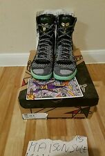 NIKE KOBE 9 ELITE GUMBO PACK ALL STAR 2014 SIZE 10.5 RECEIPT CHRISTMASKOBE