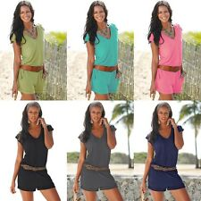 Casual New Womens Fashion V-Neck Beach Bodysuit Pants Romper Playsuit Jumpsuit
