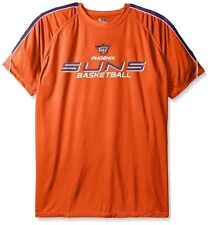 Phoenix Suns NBA Majestic Mens Buzzer Beater Synthetic Shirt Big & Tall Sizes