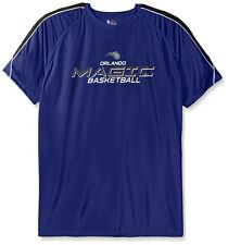 Orlando Magic NBA Majestic Mens Buzzer Beater Synthetic Shirt Big & Tall Sizes