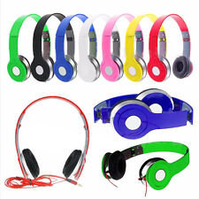 Adjustable Over-Ear Earphone Headphone 3.5mm For  Smart Phone PC  MP4 MP3 Tablet