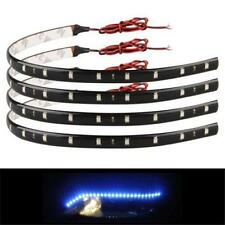 3colors 30cm SMD LED Strip Light Flexible Waterproof 12V DIY Car Decor New KP