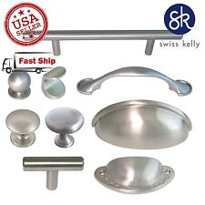 Kitchen Hardware Cabinet Handle Cup Pull Knob Bathroom Drawer Door Pulls Handles