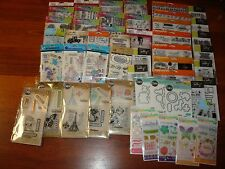 Fiskars, Dylusions, Recollection, Tim Holtz, Kelly Clear Stamps Lot- You Pick