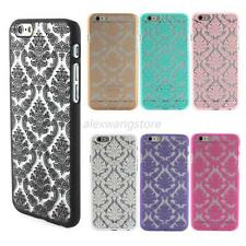 Anti-scratch Retro Flower Pattern PC Hard Back Case Cover Skin for iPhone 6/5/5S
