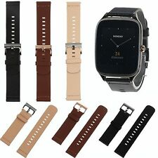 22mm Genuine Leather Quick Release Wrist Watch Band Strap for ASUS Zen Watch 2