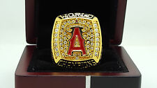 2002 Anaheim Angels world series championship ring 11s solid back in stock