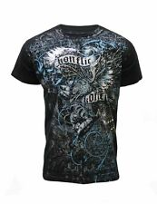Konflic Nwt Men's Giant Fight Eagle Grapic MMA Muscle Shirts(S/#540)