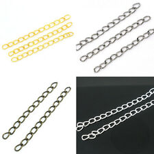Extended & Extension Chains Tail Extender DIY Jewelry Making Findings 50mm