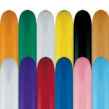 646Q Fashion Colours Qualatex Modelling Balloons x 50 - All Under One Listing
