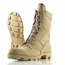 NEW Wellco T930B US Military Desert Tan Hot Weather Jungle Boot, Panama Sole USA