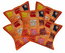 5pcs-100Pcs Ethnic Embroidered Patchwork Indian Cushion Covers Wholesale Lot