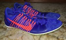 NIKE Zoom Victory 2 Blue Mid Distance Track Spikes Shoes NEW Mens 4.5 7.5 9.5 13