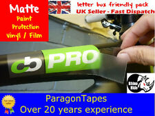 MATTE SATIN Rhino Hide Bike Frame Paint Protection Tape Helicopter Frozen MTB