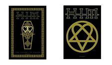 HIM H.I.M. - HEARTAGRAM / FUNERAL OF HEARTS - OFFICIAL TEXTILE POSTER FLAG