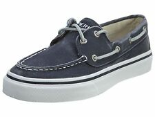 Sperry Bahama Mens 0561530-Navy Blue Canvas Casual Slip On Boat Shoes