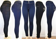 Fashion Women Jeans Jeggings Sexy Leggings Skinny Stretchy Pencil Denim Pants