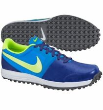 NEW MENS NIKE LUNAR MONT ROYAL GOLF SHOES 652530-400 BLUE 9 or 11 $130