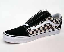 Vans Old Skool Checkerboard Black Espresso Mens Womens Shoes Size 4 - 12