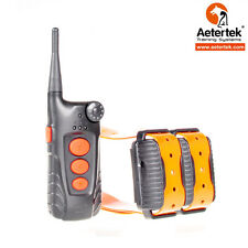 HUNTING/SPORT WATERPROOF ANTI BARK DOG REMOTE TRAINING SHOCK COLLAR FOR 2 DOGS