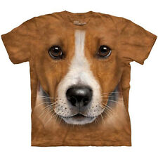BIG FACE JACK RUSSELL TERRIER T-Shirt The Mountain Giant Dog Head Mens S-3XL NEW