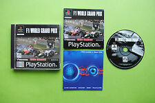 Formula One F1 World Grand Prix PS1 PS2 Playstation PAL Game + Disc Only Option