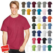 Hanes ComfortBlend 50/50 Plain Blank Solid Short Sleeve Men's T-Shirt Tee 5170