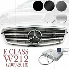 (5 Colors) Front Mesh Grille Sport AMG for Mercedes Benz E Class W212 2009-13 OE