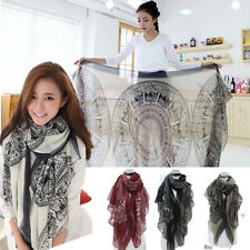 Fashion Pretty Long Soft Women Chiffon Scarf Wrap Shawl Stole Scarves New lot