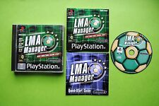 LMA Manager Sony Playstation PS1 PAL Game + Works On PS2 & PS3