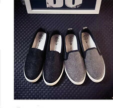 Hot Fashion Women Casual Flat Canvas Shoes Sequined Loafers