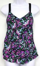 Liz Lange Maternity Swim Suit Target Pink Butterfly Swimsuit NEW Black