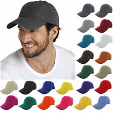 Men's Plain Snapback Hats Hip-Hop Adjustable bboy Baseball Cap New Single Color