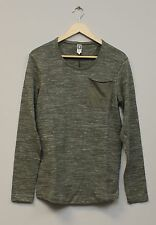 Mens G Star Raw Neoth Long Sleeve T-Shirt - Raw Green - SIZE S - WAS £90 - SALE