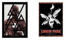 LINKIN PARK - LIVING BURN / SOLDIER BUG - OFFICIAL TEXTILE POSTER FLAG