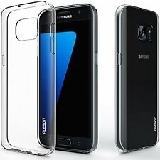 Super Slim TPU Gel Silicon Soft Clear Phone Case For iPhone Samsung Various Mode