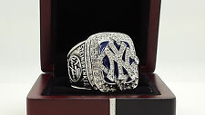2009 New York Yankees MLB world series championship ring 11s solid back