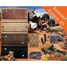 LotsForPets 3ft Deep Bearded Dragon Starter Kit Reptile Vivarium