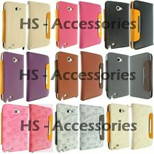 For Samsung Galaxy Note i9220 Leather Case Cover Wallet Flip Book GT-N7000 Pouch